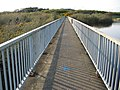 The walkway on the dam at Llyn Alaw - geograph.org.uk - 170613.jpg