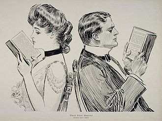 Charles Dana Gibson - Their First Quarrel, 1914
