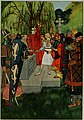 Then Arthus drew out the sword and was proclaimed as king.jpg