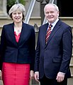 Theresa May and Deupty FM Martin McGuinness.jpg