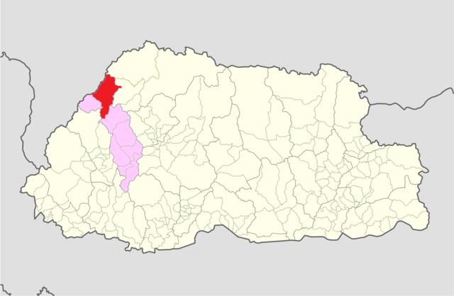 FileThimphu Lingzhi Gewog Bhutan location mappng Wikimedia Commons