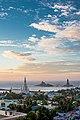 Thiruvalluvar Statue morning shot Kanyakumari.jpg