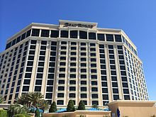 This is a photo of the beach side of Biloxi, MS casino Beau Rivage 2014-04-19 18-40.jpg
