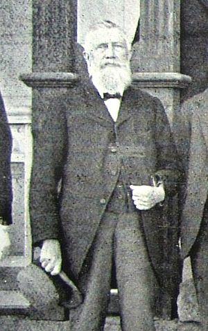 Thomas Charles Scanlen - Scanlen in later life in Rhodesia