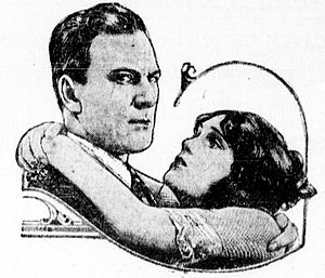 Thomas Meighan - Meighan with co-star Pauline Starke in 1922, as they appeared in publicity for the film If You Believe It, It's So.