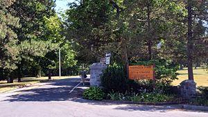 Thornden Park - Thornden Park's main entrance