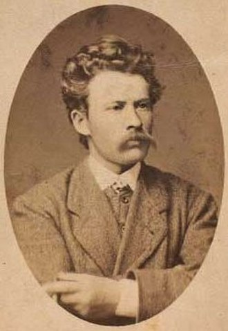 Thorvald Niss - Thorvald Niss, photographed by Heinrich Tönnies (1874)