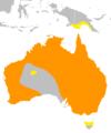 Threskiornis spinicollis distribution map.png