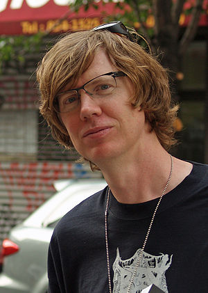 Thurston Moore at the 2008 Brooklyn Book Festi...