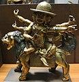 Tibet Pe-har, divinità guardiana, xviii sec..jpg