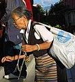 Tibetan Budhist practitioner Tharlam Monastery.jpg