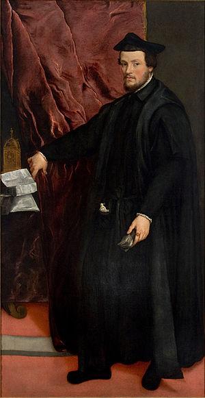Cristoforo Madruzzo - Portrait of Cristoforo Madruzzo by Titian (1552). Museu de Arte de São Paulo, São Paulo.