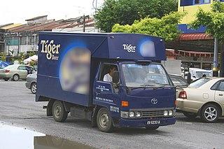 Tiger Beer Singaporean brand of beer