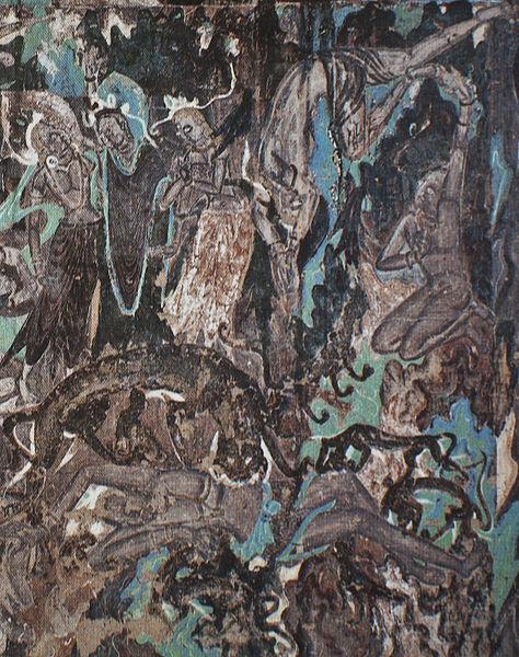 File:Tiger Jātaka, Cave 254, Dunhuang.jpg