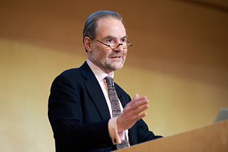 Timothy Garton Ash - Timothy Garton Ash delivering the Central European University's President's Lecture in February 2017
