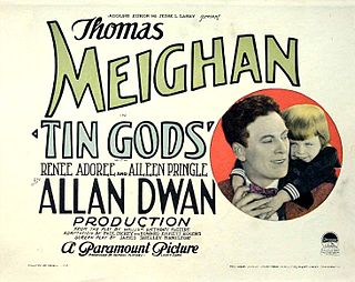 <i>Tin Gods</i> 1926 film by Allan Dwan