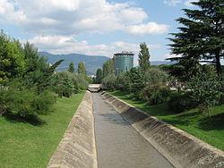 Tirana-Lana river.JPG