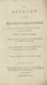 Title page Account of the First Aërial Voyage in England b1035339 011 tif d217qq113.tiff