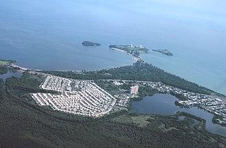 Toa Baja, Puerto Rico - Image: Toa Baja PR, Punta Salinas Radar Installation