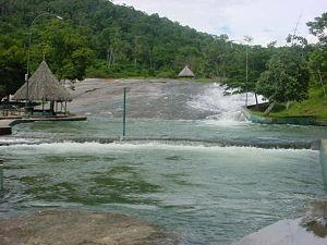 Amazonas (Venezuelan state) - The Tobogán de la Selva, near to Puerto Ayacucho.