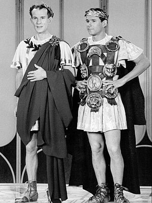 The Smothers Brothers Comedy Hour - Tom and Dick as Romans in a 1967 skit