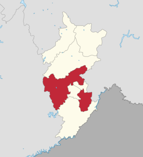 Tonghua County County in Jilin, Peoples Republic of China