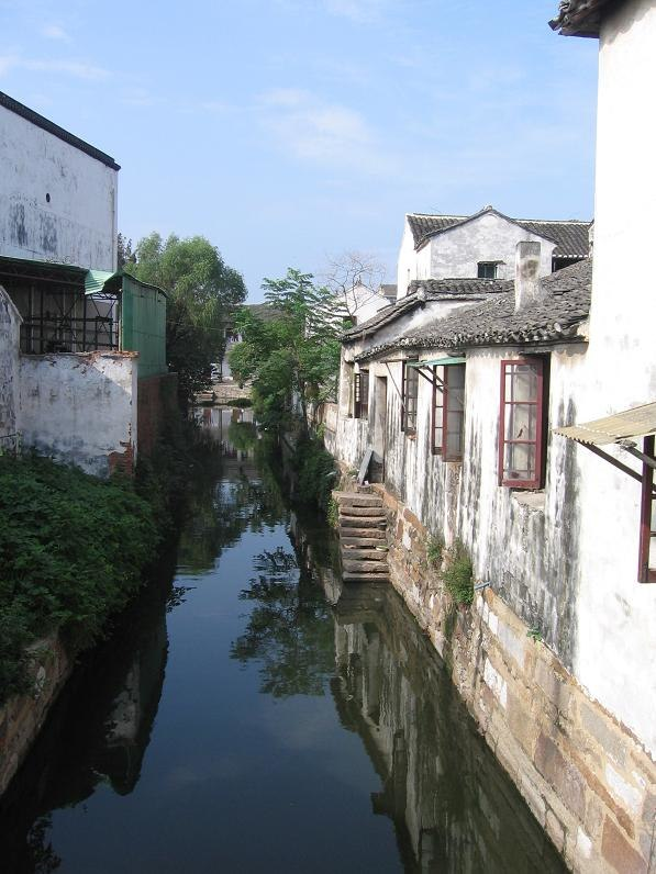 Tongli village, Jiangsu, China