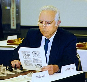 Anthony Saidy - Tony Saidy at the 2002 U.S. Chess Championships in Seattle, Washington