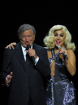 Cheek to Cheek (album) - Bennett and Gaga performing on the Cheek to Cheek Tour at London's Royal Albert Hall