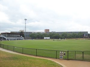 Toorak Park - Image: Toorak Park from south 2014
