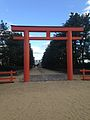 Torii of Hakozaki Shrine near Hakata Bay.jpg