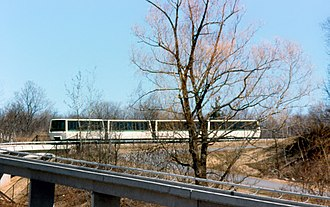 Toronto Zoo - The Toronto Zoo Domain Ride a year after it opened in 1977. Operating from 1976 to 1994, the monorail transported guests to various sections in the zoo.