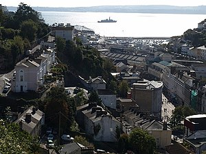 Tor Bay - View southwards from Torquay towards Tor Bay