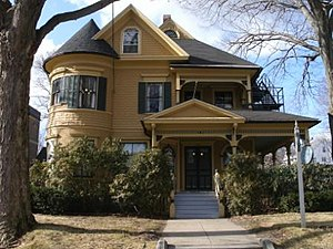 Queen Anne style architecture in the United States - James Alldis House