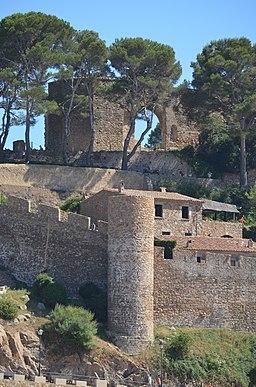Tossa de Mar, Stadtmauer (1)