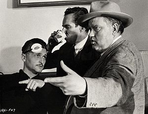 Philip H. Lathrop - Lathrop, Charlton Heston and Orson Welles