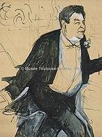 Toulouse-Lautrec - CAUDIEUX, 1893, MTL.150.jpg