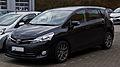 Toyota Verso (Facelift) – Frontansicht, 1. März 2014, Wuppertal.jpg