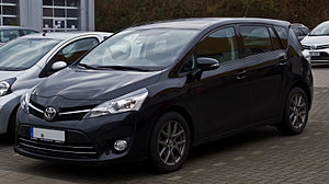 Toyota Verso - Facelifted Toyota Verso