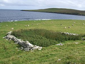 Broch of Cullingsburgh - Broch of Cullingsburgh