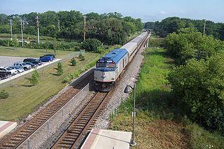 <i>Hiawatha Service</i> Train route between Chicago, Illinois and Milwaukee, Wisconsin