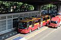 Transjakarta Articulated Bus Halte Rawasari 3.JPG