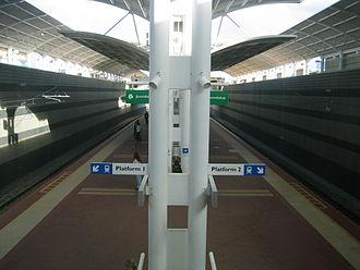 Joondalup (suburb) - Joondalup railway station