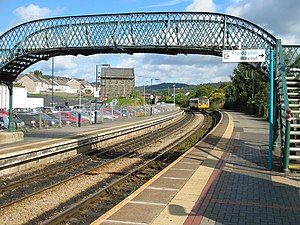Treforest railway station