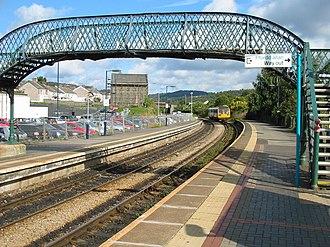 Treforest railway station - Image: Trefforest Station Wales
