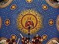 Trieste Tempio serbo-ortodosse della Santissima Trinità e di San Spiridone Innen Cupola 5.jpg