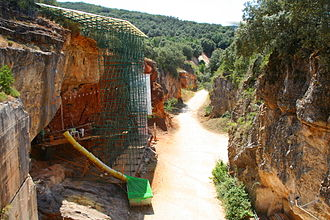 Cross de Atapuerca - The course of the race passes through the archaeological site in Atapuerca.