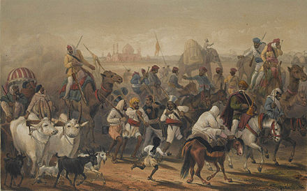Troops of the Native Allies - Indian Rebellion of 1857