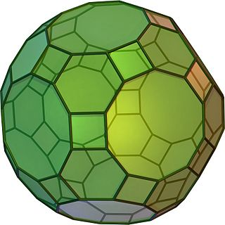 Truncated icosidodecahedron Archimedean solid