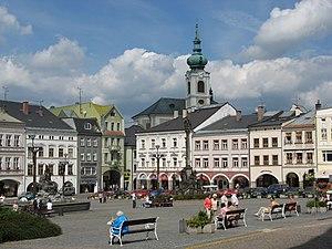 Trutnov - Image: Trutnov Krakonošovo náměstí